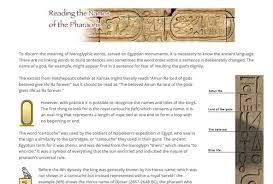 egyptian hieroglyphic alphabet