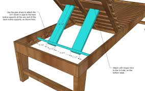 chaise lounge plans free pdf woodworking pvc