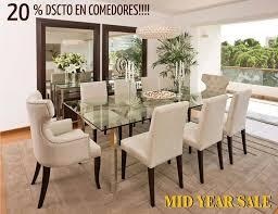 edor sillas beige y espejos mesa de vidrio decoración hogar decoraciones casa living rooms dinning room ideas and room