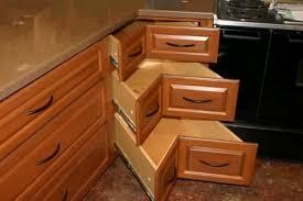 alluring kitchen corner cabinet plans and diy corner cabinet drawers