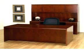 office desk plans. Executive Office Desk With Hutch Wood L Shaped Desks Oak Solid U Bookcases Cherry Furniture Home Natural Plans S