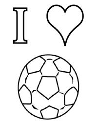 Ik Houd Van Voetbal Kleurplaat Klaarwerknl Dia De La Madre