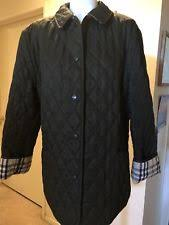 Burberry Quilted Coats & Jackets Fall for Women | eBay & NWOT Burberry Brit Women's Dark Green Diamond Quilted Jacket Sz Large Adamdwight.com