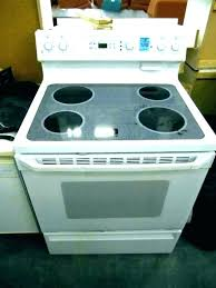 ceramic stove top glass oven frigidaire