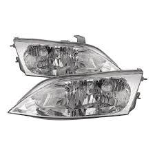 1997 Lexus Es300 Fog Lights Headlights Halogen Type Set Driver Left Right Passenger Pair Fits 1997 2001 Lexus Es300 Type Only
