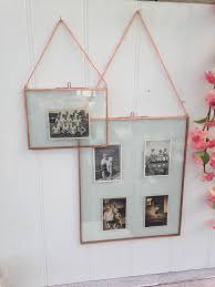 hanging copper picture frames double sided glass choice of 20 30 picture frame with glass