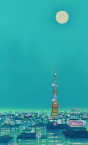 scenery wallpaper sailor moon