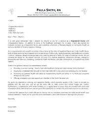 Rn Resume Cover Letter Nurse Sample Cover Letter Sample Cover Letter