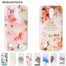 For LG K20 Plus Case Cover Cartoon Soft TPU Phone K10 2017 5.3 inch Silicone Gel Bag