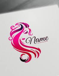 Beauty Logo Maker Free Logo Design Templates Hair Logos