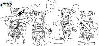 All Ninjago Coloring Pages (Page 1) - Line.17QQ.com