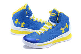 under armour basketball shoes stephen curry white. under armour ua stephen curry one mid men\u0027s home basketball shoes blue/white /yellow white m