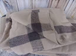Tan Wool Blanket