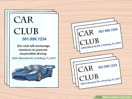 How To Start A Car Club 11 Steps With Pictures Wikihow