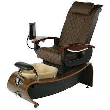 nail chair technician chairs on nylon glides nailhead furniture nail chair