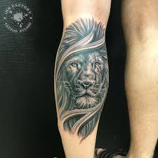 лев со шрамом сделано в Inkfactory