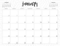 Weekly Calendar Free Print Free 2019 Printable Calendars 46 Designs To Choose From