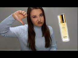 guerlain l or radiance primer with pure gold review