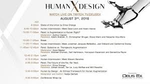 Deus Ex Design Document Human X Design Talks And Experiences About Augmentation