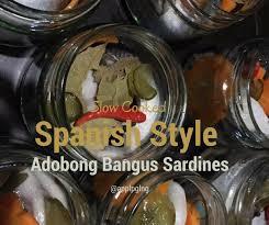 adobong bangus sardines