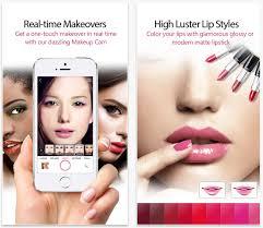 selfie editing app screengrab via youcam makeup itunes preview