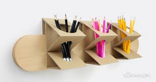 diy pencil holder for student desks