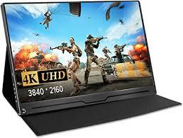 """15.6"""" <b>Portable Monitor</b> HDR 4K 3840x2160 IPS <b>HDMI Touch</b> Screen ..."""
