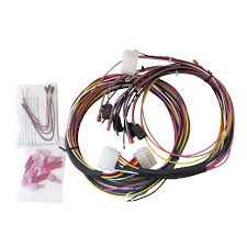 2198_18 gauge wire harness, universal, for tach speedo elec gauges, incl on autometer gauge wiring harness