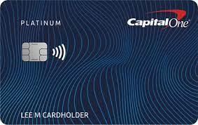 capital one platinum credit card review