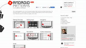 Android Design Patterns Impressive 48 Resources For Dedicated Android UI Design Iriphon