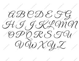design letter fancy lettering design a z alphabet letter stencils uppercase