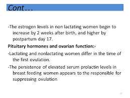 ... When Does Period Resume After Birth by Physiological Change Occurring  During The Post Partum Period Ppt ...