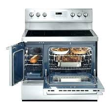 enchanting 40 stove electric professional in double oven range with self cleaning convection o81