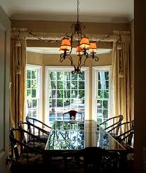 pictures of dining room windows. window treatments for bay windows in dining room of nifty pictures