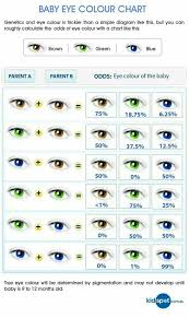 Eye Dominance Chart What Color Eyes Will Your Child Have Eye Color Chart