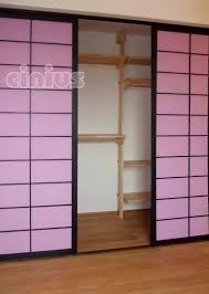 Cabina armadio in legno con porta scorrevole cabina armadio
