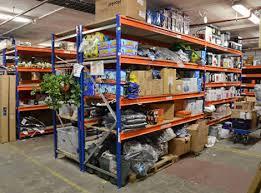 heavy duty stockroom shelving