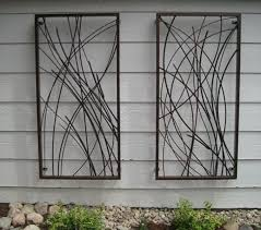 outdoor metal wal outdoor wall decor metal for decorative wall outdoor iron decorative wall art modern