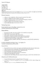 Lvn Resume Examples Simple Lvn Resume Examples Sample Resume Template Fascinating Lvn Resume