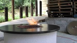 vulcan firepit  ethanol outdoor firepit  youtube