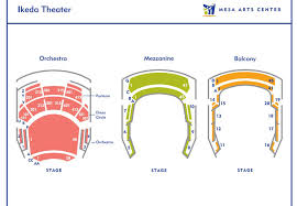 Symbolic Mesa Performing Arts Center Seating Chart Bob Carr