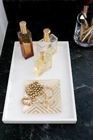 Decorative Bathroom Tray White Lacquer Tray Design Ideas 47