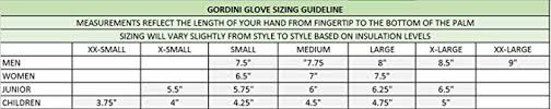 Gordini Mens Fuse Three Finger Gloves