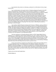Business Instructor Cover Letter Sarahepps Com