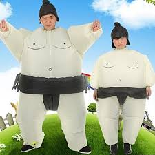 Dumonsly <b>Inflatable Sumo</b> Wrestler Wrestling <b>Costume Suit</b> Outfit for ...