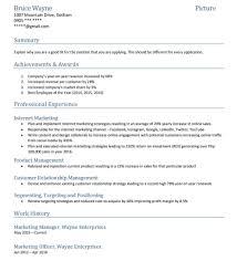 Resume Formats Hybrid Temp Sevte