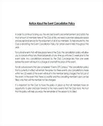 Cancel Letter Policy Cancellation Template Best Templates For Google ...
