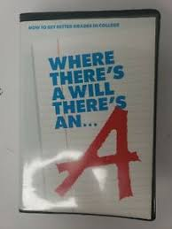 How To Get Better Grades In College Details About Vtg Where Theres A Will Theres An A How To Get Better Grades In College Vhs