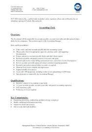 Manifest Clerk Sample Resume Custom File Clerk Resume Sample Colbroco