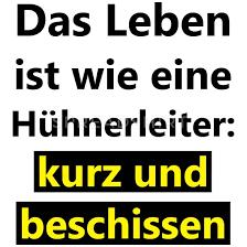 Lustiger Spruch Lustige Sprüche Leben Scheiße Fun Untersetzer